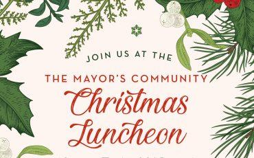 The Mayor's Community Christmas Luncheon