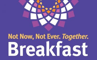 Not Now. Not Ever. Together Breakfast