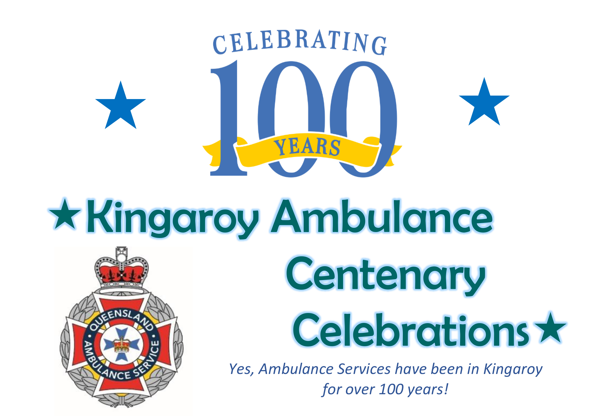 Kingaroy Ambulance Centenary Celebrations