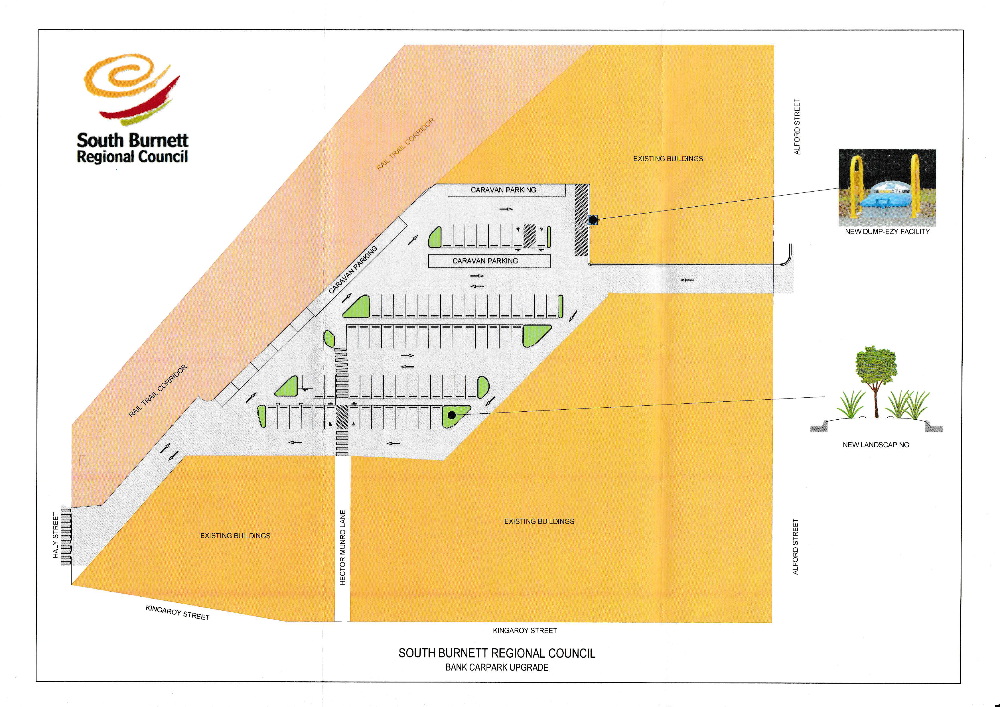 Alford Street Carpark Upgrade, Kingaroy