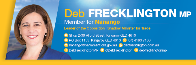 Update from Deb Frecklington: Queensland's small businesses need grants NOW