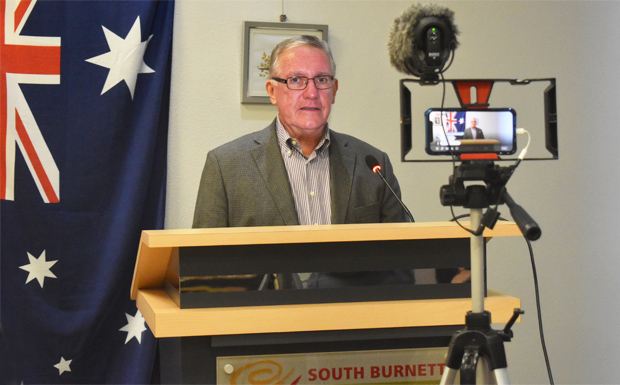 South Burnett Mayor calls for calm