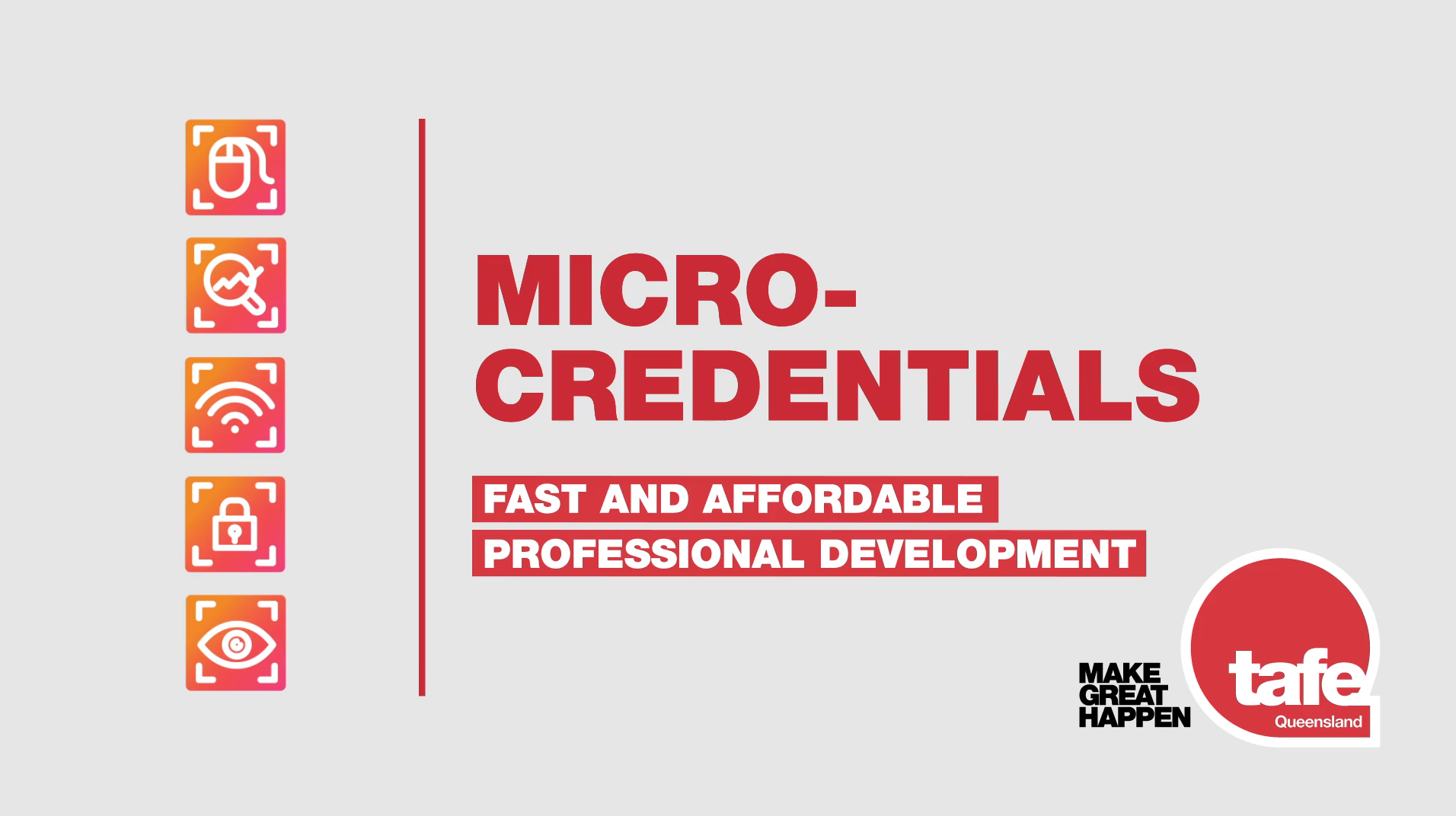 Introducing micro-credentials from TAFE Queensland