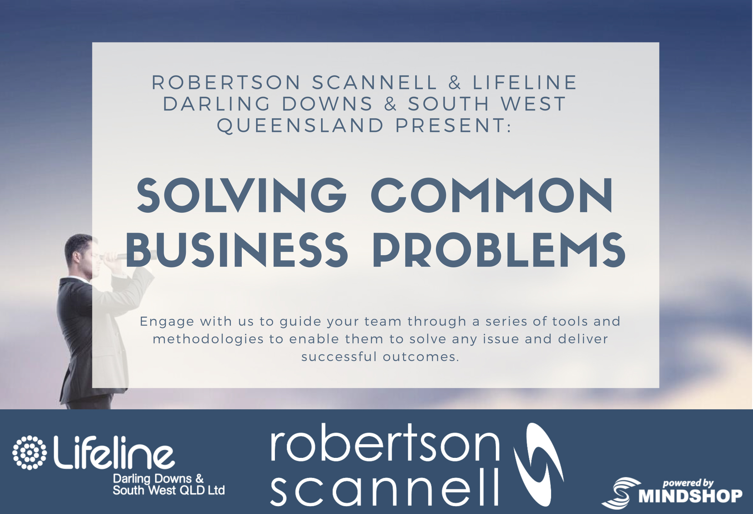 Solving Common Business Problems Workshops: May & June