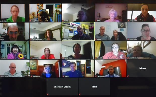 BIEDO hosts KCCI first virtual Meet & Greet