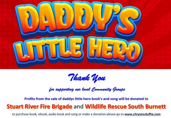 Daddy's Little Hero – Supporting our local Community