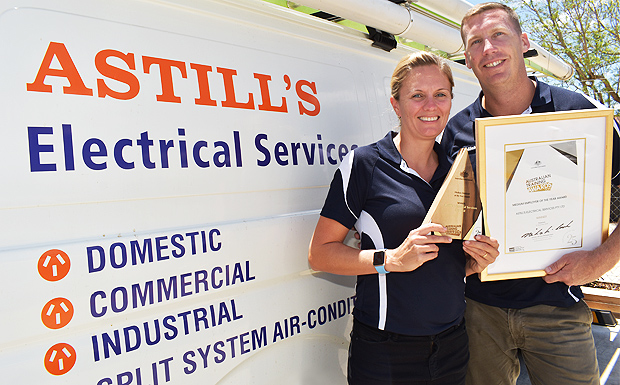 Astill's Brings Home National Trophy