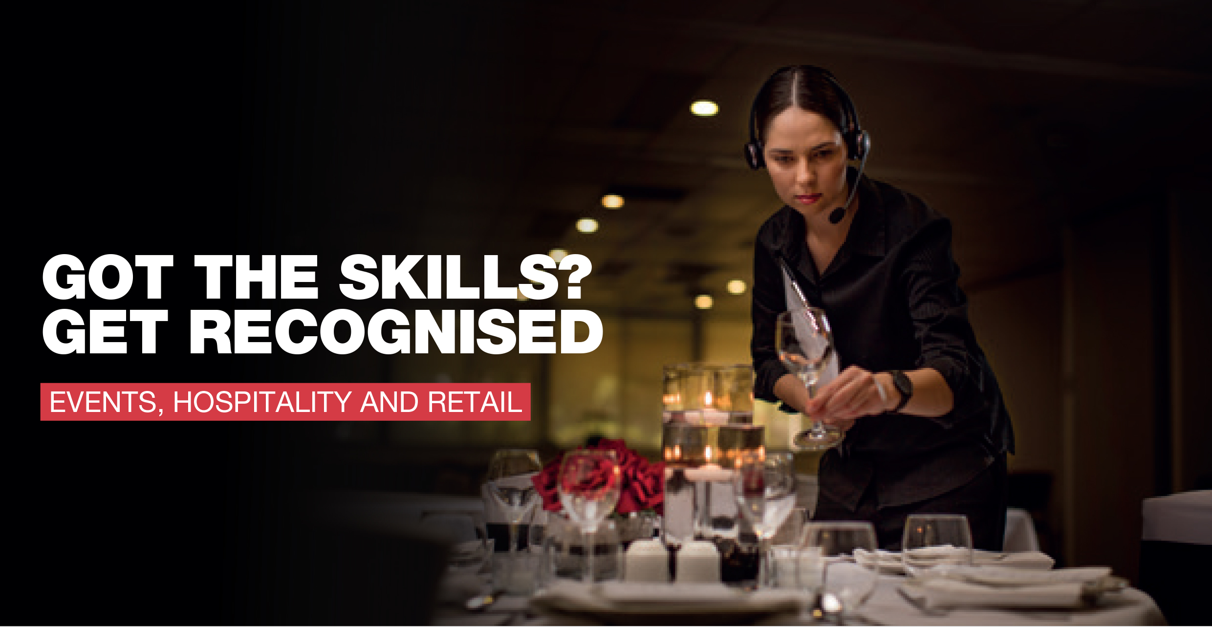 Hospitality, Retail & Events Training