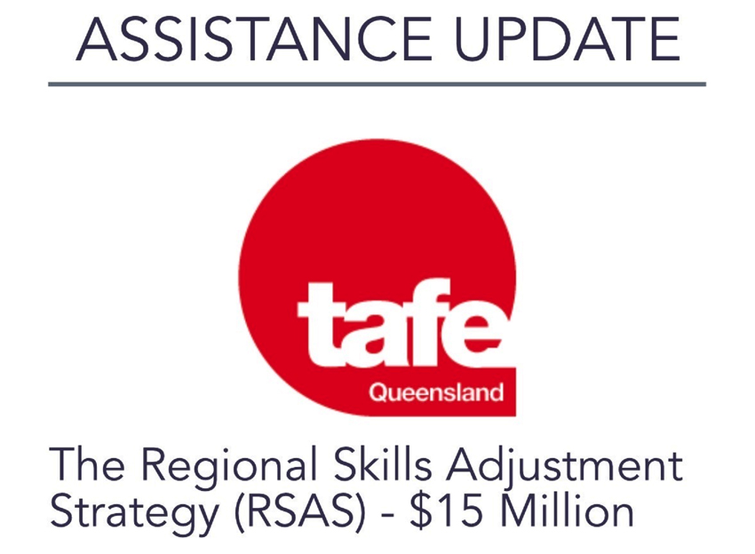 ASSISTANCE: The Regional Skills Adjustment Strategy (RSAS)