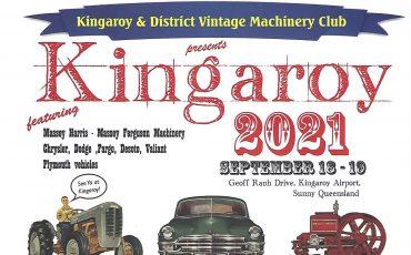Kingaroy Vintage Machinery Club Rally 2021